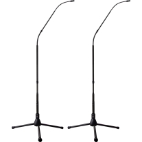 Earthworks FW430TPBMP 30 kHz 4.7 Foot Cardioid System with Tripod Base Matched Pair