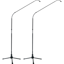 Earthworks FW730/HC-TPBMP 30 kHz 7 Foot Hypercardioid System with Tripod Base Matched Pair