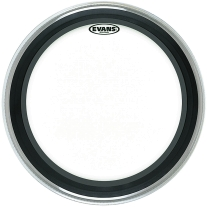 "Evans BD20EMAD 20"" Clear EMAD Bass Drum Head"