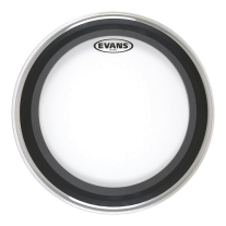 "Evans BD22EMAD2 22"" EMAD2 Batter Bass Drum Head Clear"