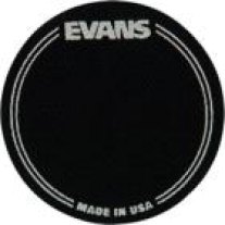 Evans EQ Bass Drumhead Patch Black Single