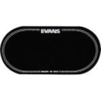 Evans Bass Drumhead Patch Black Double