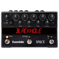 Eventide Space Reverb and Beyond Stomp Box Pedal