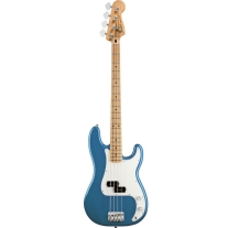 Fender Mexican Standard Precision Bass in Lake Placid Blue with Maple Neck