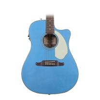 Fender Sonoran SCE Acoustic/Elec Guitar in Lake Placid Blue