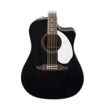 Fender Sonoran SCE Acoustic/Electric Guitar in Black
