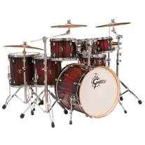 Gretsch Catalina Maple 6pc Shell Pack Drumset in Deep Cherry Burst