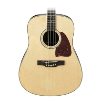 Ibanez AW300LNT Left Handed Dreadnought Solid Spruce Top Natural