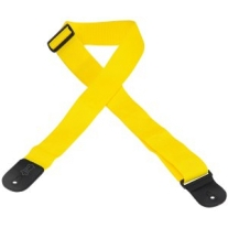 "Levy'S 2"" Polypropylene Guitar Strap in Yellow"