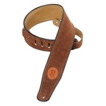 Levy's MSS3 Suede Strap 2.5 Inches In Brown