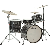 Ludwig Liverpool 4 Legacy Series 4 Piece Drumset In 60's Black Oyster