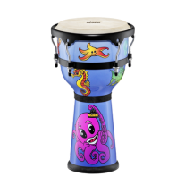 """Meinl Nino23DS 10"""" Djembe Drum with Sea Graphics"""