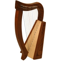 Mid East HPBY Baby Harp Birch 21 Inches High