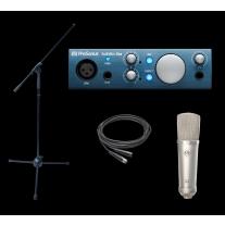 Presonus Audiobox iOne Stellar Recording Bundle!!