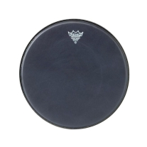 "Remo 16"" Black Suede Emperor Drum Head"