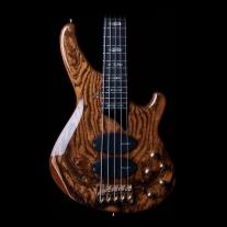 Sandberg Custom Supreme 5 String Bass in High Gloss Finish with Bocote Top