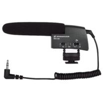 Sennheiser MKE 400 Small SHot Gun Microphone