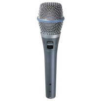 Shure BETA 87C Cardioid Condenser for Vocal Applications
