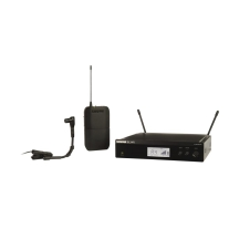 Shure BLX14R/B98 Instrument Wireless System with WB98H/C Microphone (J10)