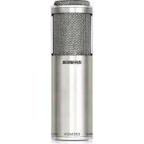 Shure KSM353 Bi-Directional & Dual Voice Ribbon Microphone with Roswell