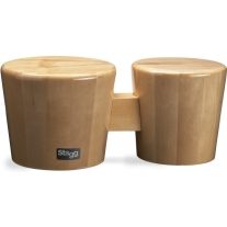 Stagg BWW10N Bongo Cajon in Natural Wood Finish