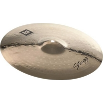 """Stagg DHCM17B Dual Hammered 17"""" Crash Cymbal"""