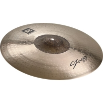 """Stagg DHRXD21E Dual Hammered Series 21"""" Extra Dry Exo Ride Cymbal"""
