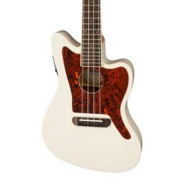 Fender Fullerton Jazzmaster Uke in Olympic White