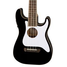 Fender Fullerton Strat Uke in Black