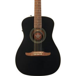 Fender Joe Strummer Campfire Acoustic Electric Guitar in Matte Black