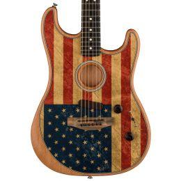 Fender Limited Edition American Flag Acoustasonic Stratocaster