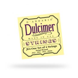 D'Addario J64 Dulcimer Nickel 4-String