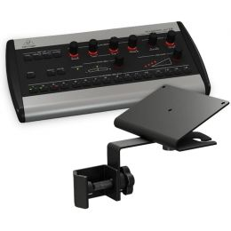 Behringer P16-M Powerplay Personal Headphone Mixer with P16-MB Mount