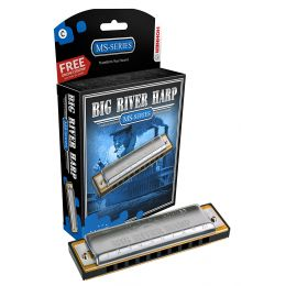 Hohner Big River Harmonica, Key of C