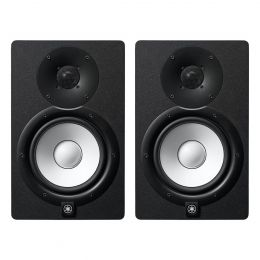 "Yamaha HS7 6.5"" Powered Studio Monitor Pair with Bi-Amp Power Amplifiers"