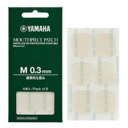 Yamaha Clear 0.3mm Mouthpiece Patch 6/pack YAC MPPA3M3
