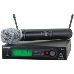 Shure SLX24 Beta87A UHF Freq Switchable Wireless System