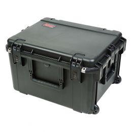 SKB 3i-2217-124U - iSeries Fly Rack Case with Removable 4U Rack Cage