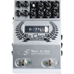 Two Notes LeClean 2-Channel U.S. Tones Tube Preamp Pedal