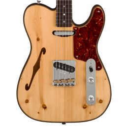 Fender Custom Shop LTD Knotty Pine Telecaster Thinline - Aged Natural