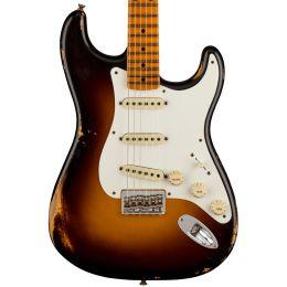 Fender Custom Shop LTD Troposphere Strat - Super Faded Aged 2 Color Sunburst