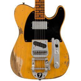 Fender Custom Shop Limited Ed. Cunife Blackguard Tele - Aged Butterscotch Blonde
