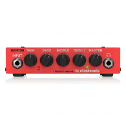 TC Electronic BAM200 200W Compact Bass Head