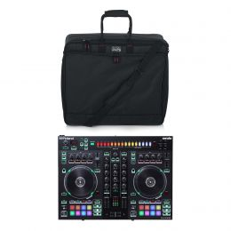 Roland DJ-505 DJ Controller Bundle with Gator Case