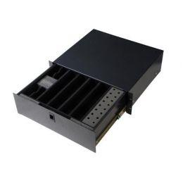 Gator Cases Rackworks GRW-DRWWRLSS Rackworks Wireless Microphone Drawer; 3U