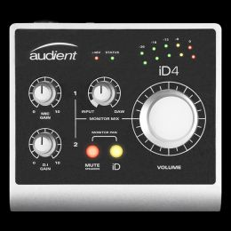 Audient iD4 1-Channel USB2 Interface and Monitoring System