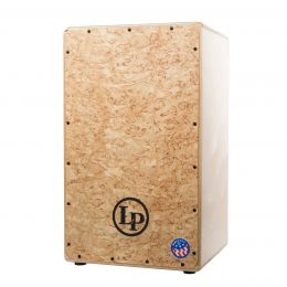 LP AMERICANA GROOVE WIRE CAJON W/ Kurillian Birch with Puresound snare wires