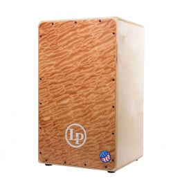 LP AMERICANA GROOVE WIRE CAJON W/ Moabi one piece face and PureSound wires