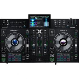 "Denon DJ Prime 2 Standalone 2-Deck Smart DJ Console with 7"" Touchscreen"