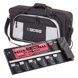 Boss RC-300 Multi Effects Guitar Loop Station Bundle with Carry Bag